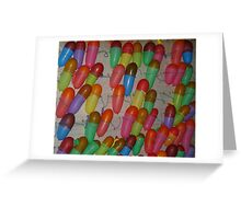 adding colors  to life : balloons Greeting Card