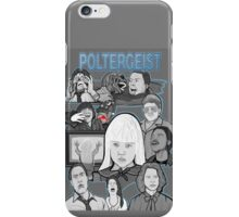 Poltergeist character collage iPhone Case/Skin