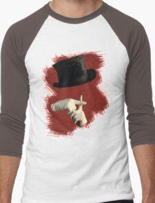 I Write Sins Not Tragedies Men's Baseball ¾ T-Shirt