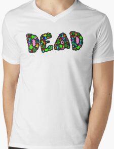 DEAD ABSTRACT COLORS Mens V-Neck T-Shirt