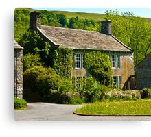 Ivy Cottage Arncliffe Canvas Print