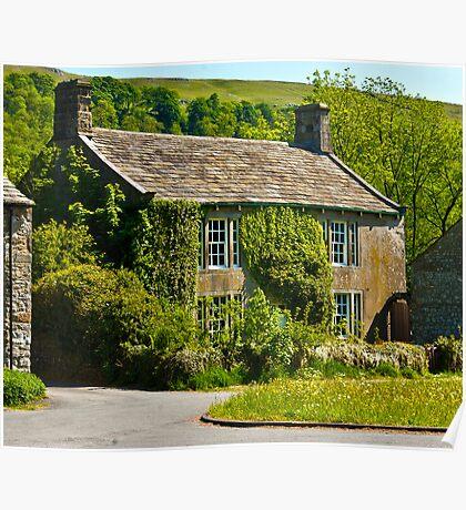 Ivy Cottage Arncliffe Poster