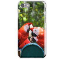 Eating birds iPhone Case/Skin
