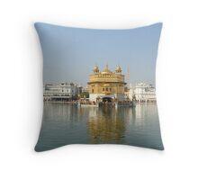 golden temple. Throw Pillow