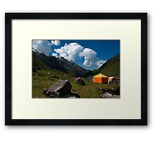 Beautiful and Bold Clouds Framed Print