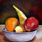 Fruit Bowl by whiterabbitart