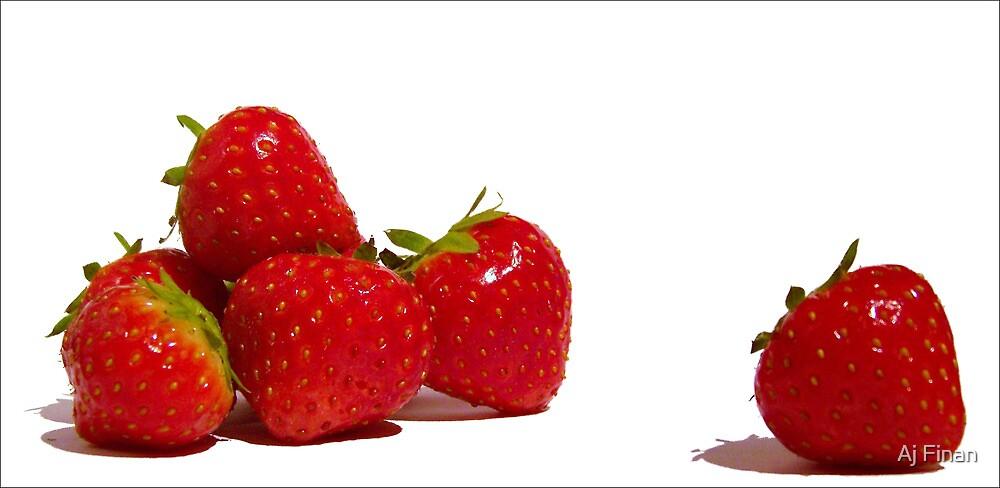 Strawberry Blush by Aj Finan