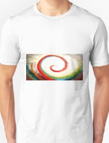 Wave of Color Oil Painting T-Shirt