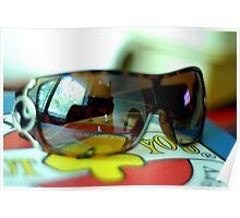 colourfull sunglasses Poster
