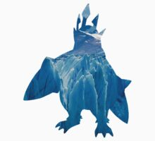 Empoleon used blizzard One Piece - Short Sleeve
