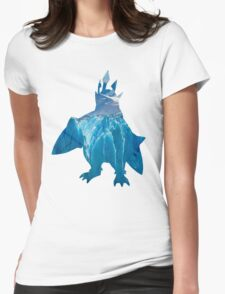 Empoleon used blizzard Womens Fitted T-Shirt