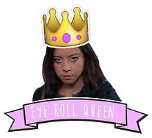 Eye Roll Queen - April Ludgate by racheladditon