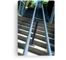 stair rail Canvas Print