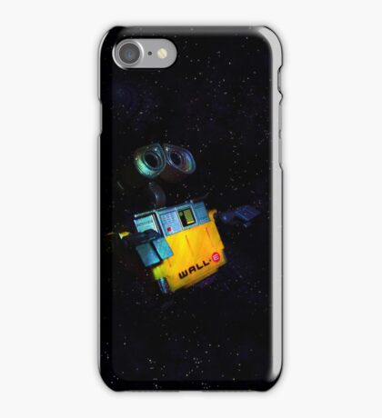Wall-E in Space! iPhone Case/Skin