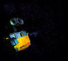 Wall-E in Space! by TanisKetra