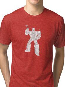 transformer toy with flower Tri-blend T-Shirt