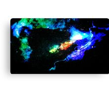 Primary Convection Canvas Print
