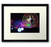 World of Color Framed Print