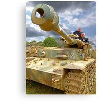 After The Battle - War and Peace Canvas Print