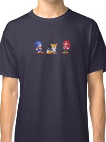 Sonic, Tails, and Knuckles Classic T-Shirt