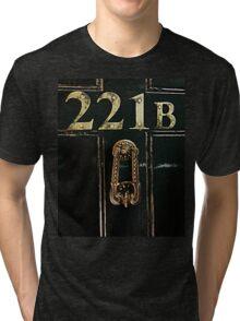 221B - door Tri-blend T-Shirt
