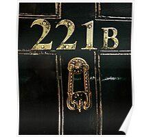 221B - door Poster