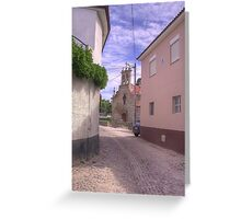Rua do Adro - Vale de Gouvinhas Greeting Card
