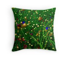 """The Field"" Throw Pillow"