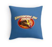 earthworm jim origin Throw Pillow