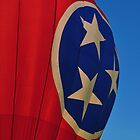 TN State Flag Balloon by A Different Eye Photography