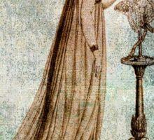 FASHIONABLE LADIES EVENING DRESS 1 1799 Sticker