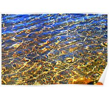A  Liquid Gold Reflection Poster