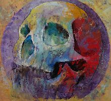 Vintage Skull by Michael Creese