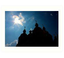 St Sophia Cathedral in Kiev Art Print