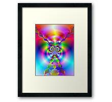 Lighting Strikes  Framed Print