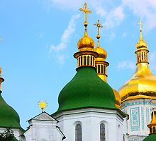 St Sophia Cathedral in Kiev by a1luha