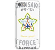 SADF Operation Savannah Veteran Shirt iPhone Case/Skin