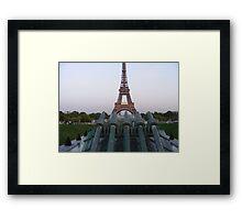Eiffel or not Framed Print