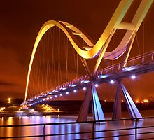 Infinity Bridge, Stockton On Tees UK (HDR using Photomatix) by Phil-Edwards