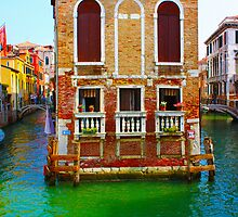 Canals  of Venice by a1luha