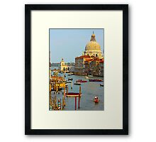 The old Italian town of Venice Framed Print