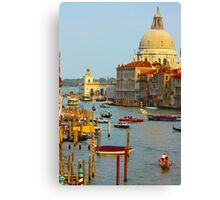 The old Italian town of Venice Canvas Print