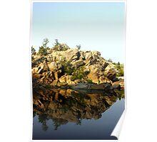 Mirror Rock Poster