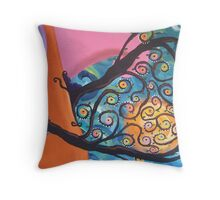 """Love Grows"" Throw Pillow"