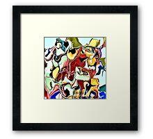( COW  BELLS )  ERIC  WHITEMAN Framed Print