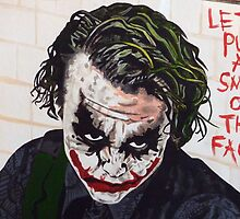 Dark Knight Joker - Let's Put A Smile On That Face by Annabel-Jane