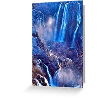 Plitvice II Greeting Card