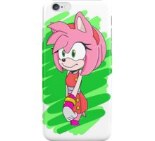 Sonic Boom Amy Rose iPhone Case/Skin