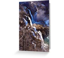 Plitvice III Greeting Card