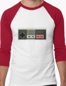 NES Controller Men's Baseball ¾ T-Shirt
